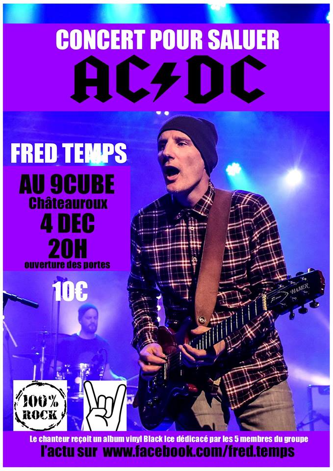 Fred Temps - concert pour saluer ACDC - , .JPG 111Ko ()