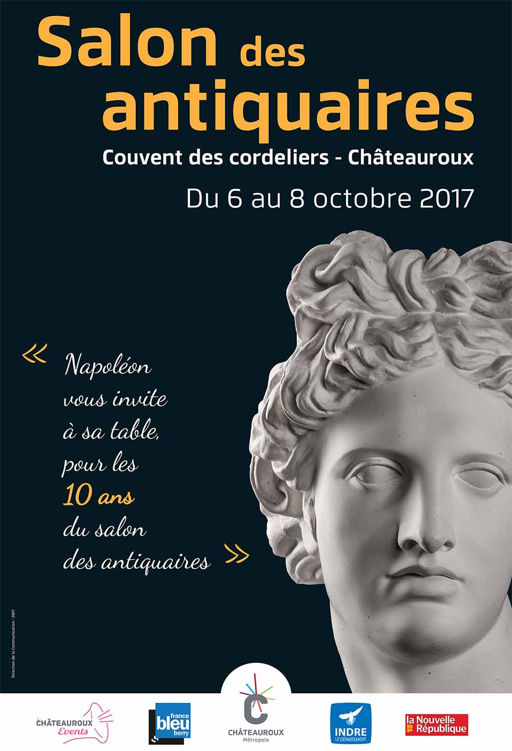 Le salon des antiquaires ch teauroux m tropole for Salon antiquaires 2017