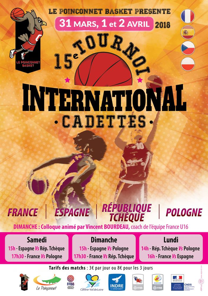 15e tournoi international du Poinçonnet Basket - , .JPG 337Ko ()