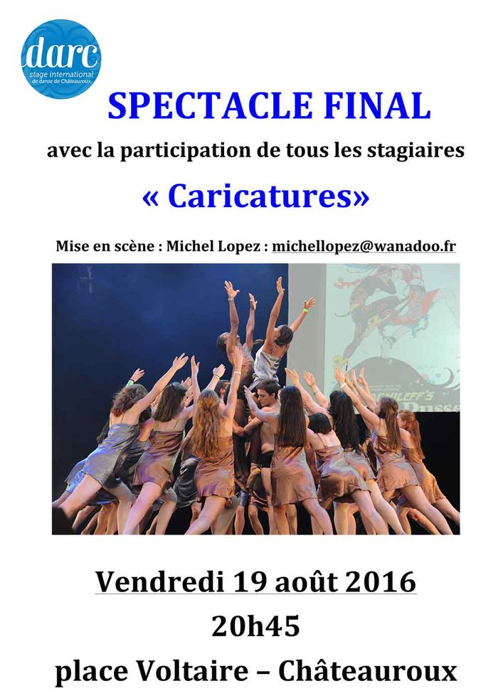 "Festival DARC : spectacle final ""Caricatures"" - , .JPG 122Ko ()"