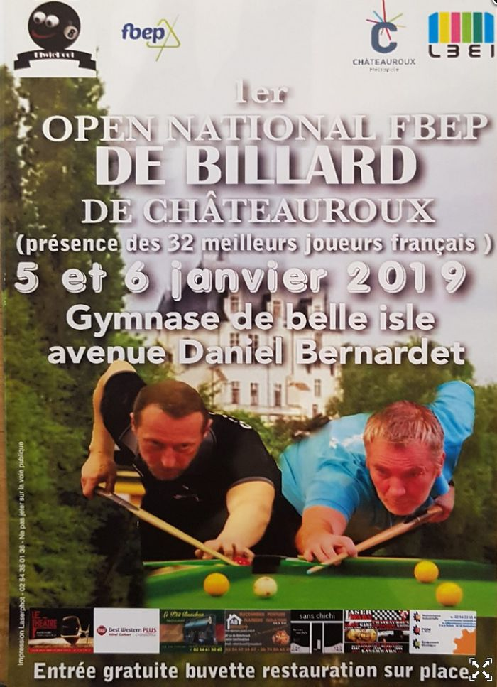 Open national FBEP de billard - , .JPG 219Ko ()